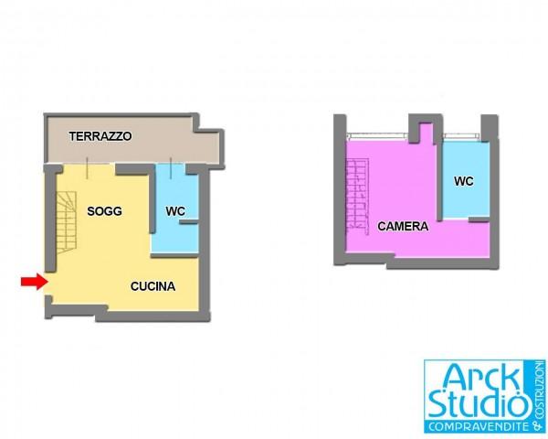 Appartamento in vendita a Treviglio, Est, 88 mq - Foto 2