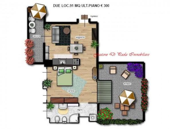 Appartamento in vendita a Milano, Con giardino, 156 mq - Foto 12