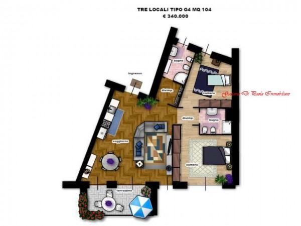 Appartamento in vendita a Milano, Con giardino, 156 mq - Foto 5