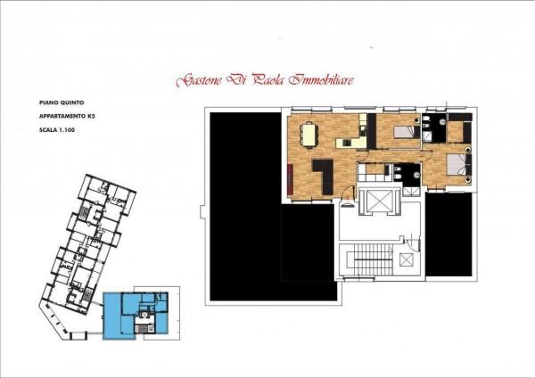 Appartamento in vendita a Milano, Con giardino, 156 mq - Foto 2