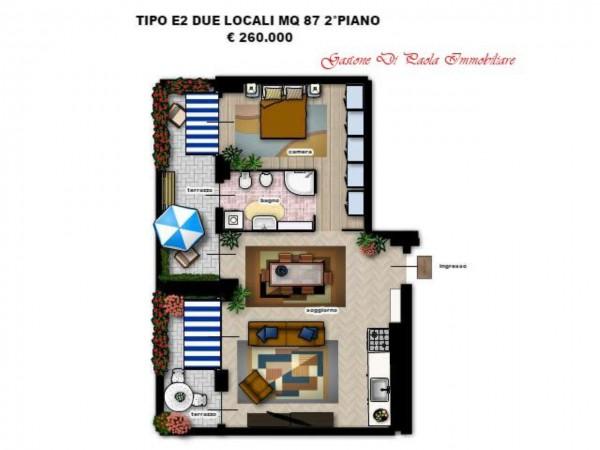 Appartamento in vendita a Milano, Con giardino, 156 mq - Foto 11