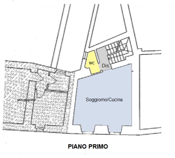Appartamento in vendita a Foligno, Frazione, 70 mq - Foto 2