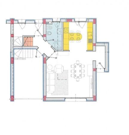 Villa in vendita a Lodi, Residenziale A 10 Minuti Da Lodi, Con giardino, 169 mq - Foto 5