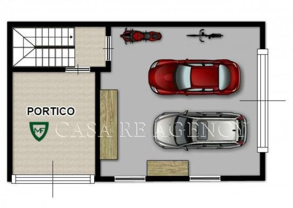 Appartamento in vendita a Induno Olona, Arredato, con giardino, 158 mq - Foto 4
