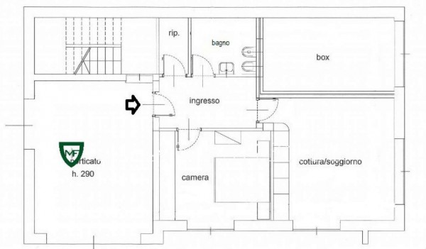 Appartamento in vendita a Induno Olona, Arredato, con giardino, 158 mq - Foto 2