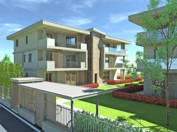 Appartamento in vendita a Cassano d'Adda, Groppello, Con giardino, 63 mq
