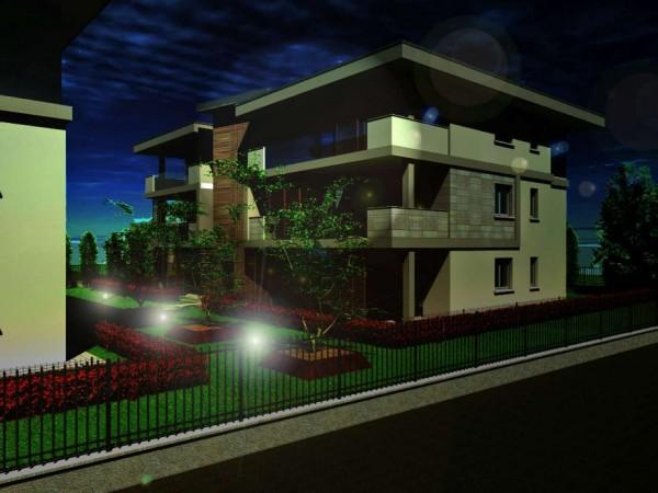 Appartamento in vendita a Cassano d'Adda, Groppello, Con giardino, 63 mq - Foto 13