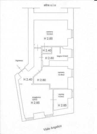 Appartamento in vendita a Roma, Prati, 85 mq - Foto 2