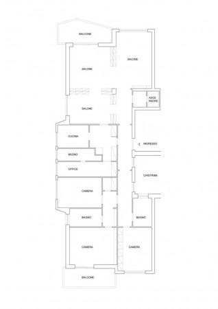 Appartamento in vendita a Roma, Vignaclara, 230 mq - Foto 2