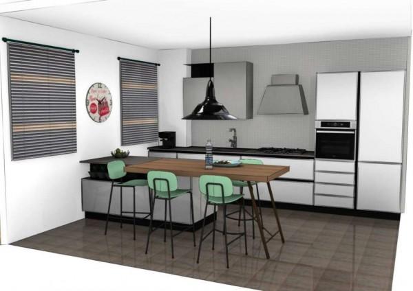 Appartamento in vendita a Muggiò, San Carlo, 125 mq