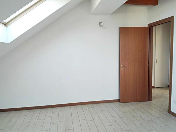 Appartamento in vendita a Vedano al Lambro, Parco, 113 mq - Foto 8