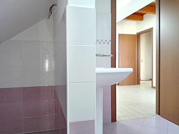Appartamento in vendita a Vedano al Lambro, Parco, 113 mq - Foto 5