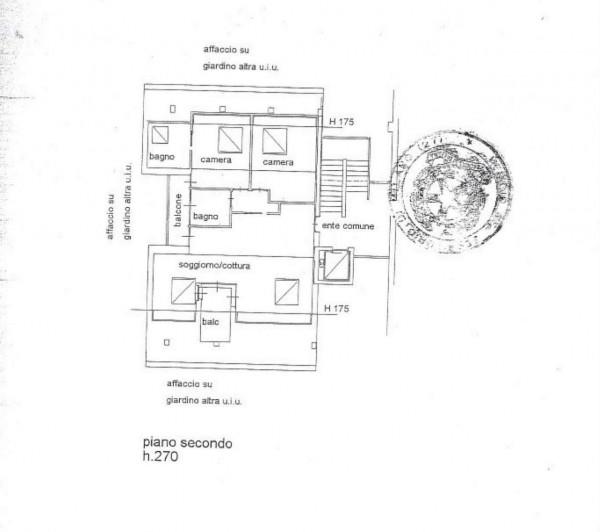 Appartamento in vendita a Vedano al Lambro, Parco, 113 mq - Foto 3