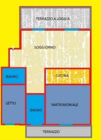 Appartamento in vendita a Forlì, Buscherini, Con giardino, 73 mq - Foto 3