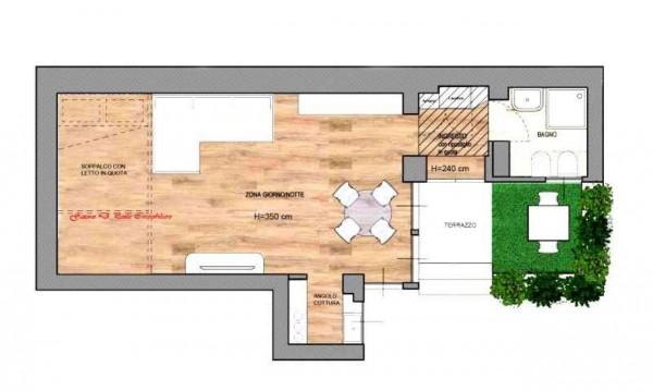 Appartamento in vendita a Milano, Citta Studi, 40 mq - Foto 2