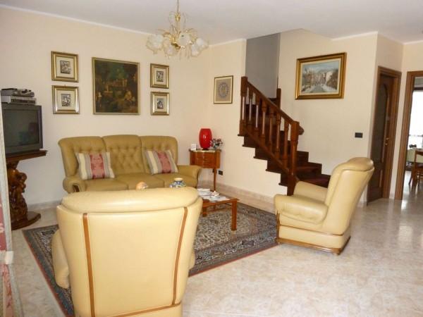 Villetta a schiera in vendita a Venaria Reale, Gallo Praile, Con giardino, 330 mq - Foto 29