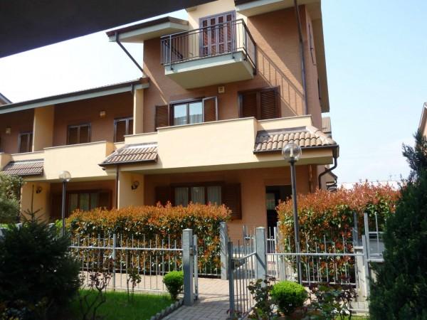 Villetta a schiera in vendita a Venaria Reale, Gallo Praile, Con giardino, 330 mq - Foto 41
