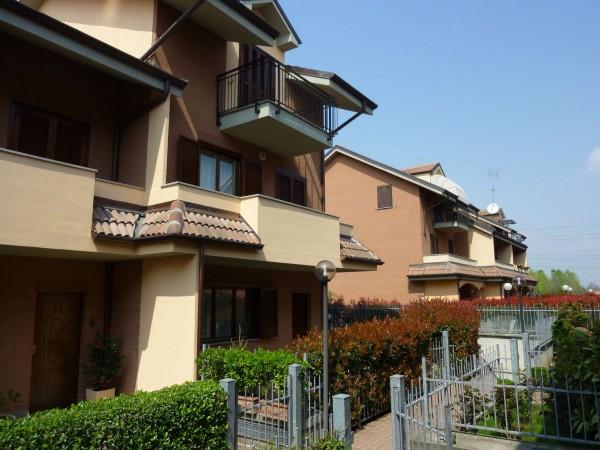 Villetta a schiera in vendita a Venaria Reale, Gallo Praile, Con giardino, 330 mq - Foto 40