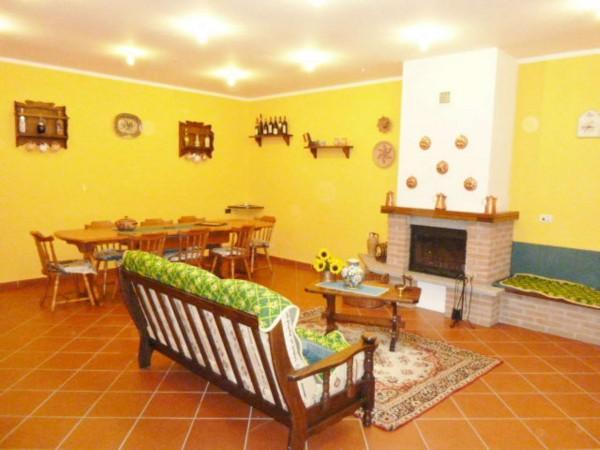 Villetta a schiera in vendita a Venaria Reale, Gallo Praile, Con giardino, 330 mq - Foto 10