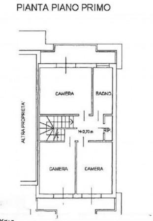 Villetta a schiera in vendita a Venaria Reale, Gallo Praile, Con giardino, 330 mq - Foto 3
