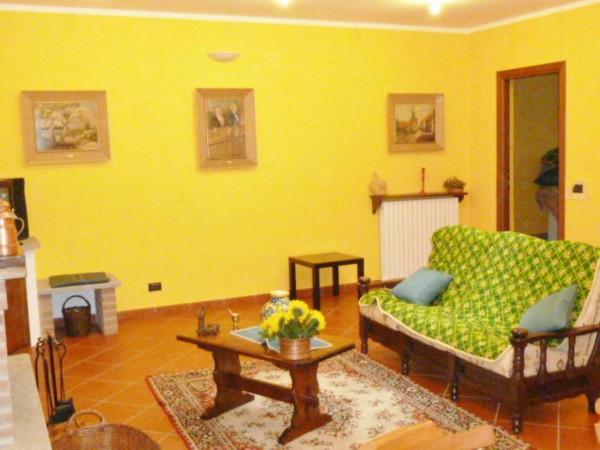 Villetta a schiera in vendita a Venaria Reale, Gallo Praile, Con giardino, 330 mq - Foto 9