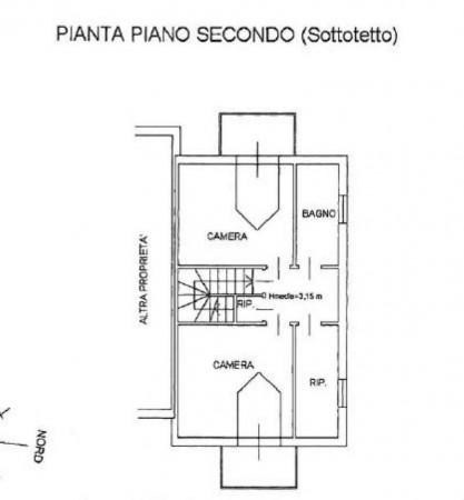 Villetta a schiera in vendita a Venaria Reale, Gallo Praile, Con giardino, 330 mq - Foto 2