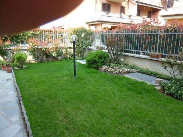 Villetta a schiera in vendita a Venaria Reale, Gallo Praile, Con giardino, 330 mq - Foto 34