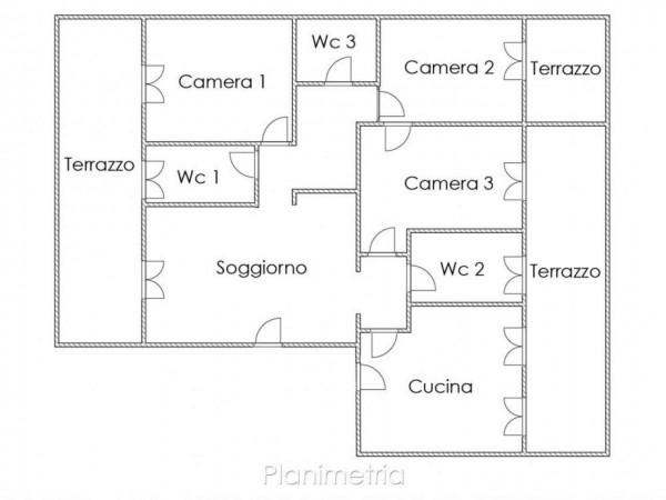 Appartamento in vendita a Milano, Cadore/montenero, 136 mq - Foto 5