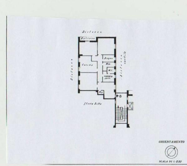 Appartamento in affitto a Roma, Prati Fiscali, Arredato, con giardino, 130 mq - Foto 6