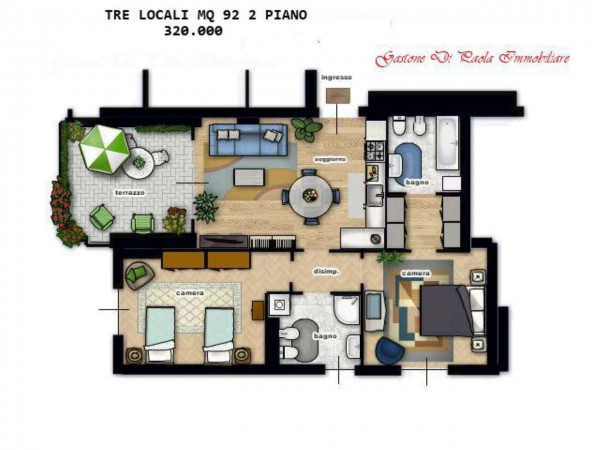 Appartamento in vendita a Milano, Precotto, 79 mq - Foto 6