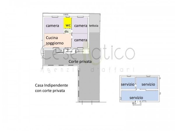 Casa indipendente in vendita a Cesenatico, Villamarina, Con giardino, 105 mq - Foto 2