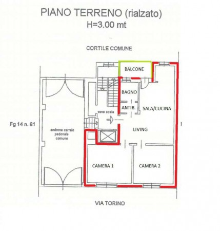 Appartamento in vendita a La Cassa, Centro, 79 mq - Foto 5