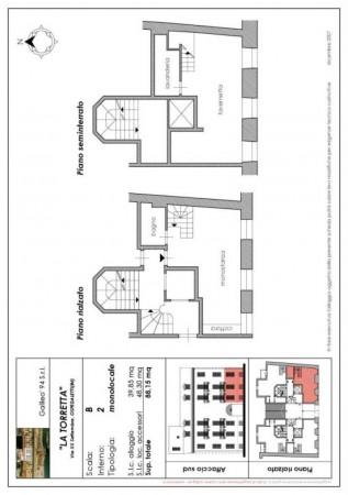 Appartamento in vendita a Ospedaletti, Arredato, con giardino, 88 mq - Foto 2
