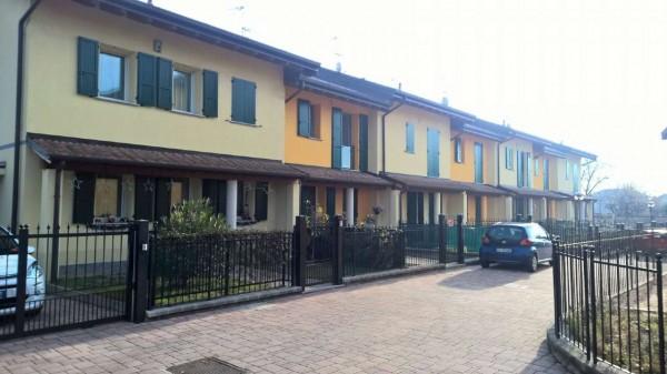 Villetta a schiera in affitto a Cornaredo, Con giardino, 150 mq - Foto 8