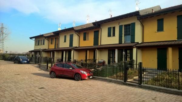 Villetta a schiera in affitto a Cornaredo, Con giardino, 150 mq - Foto 13