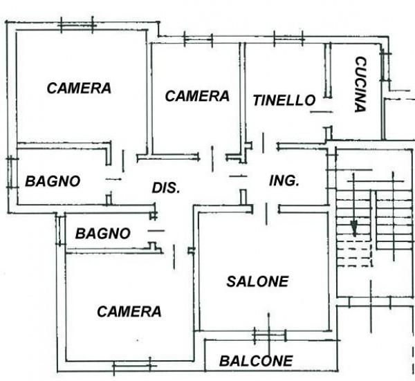 Appartamento in vendita a Spoleto, Loc. Morgnano, 120 mq - Foto 2