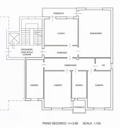 Appartamento in vendita a Abano Terme, Con giardino, 170 mq - Foto 14