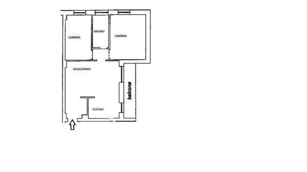 Appartamento in vendita a Milano, Con giardino, 85 mq - Foto 28