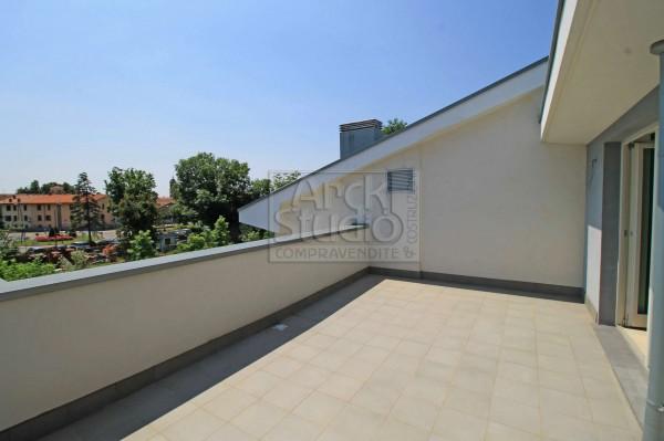 Appartamento in vendita a Treviglio, Casirate, Con giardino, 136 mq - Foto 14