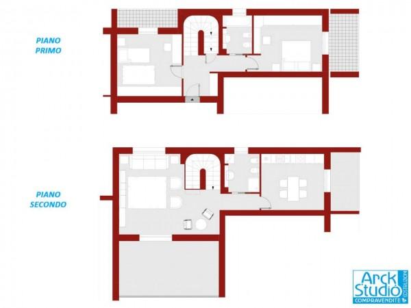 Appartamento in vendita a Treviglio, Casirate, Con giardino, 136 mq - Foto 8