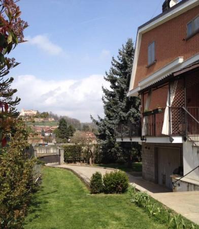 Villa in vendita a Reano, Rivoli, Con giardino, 287 mq