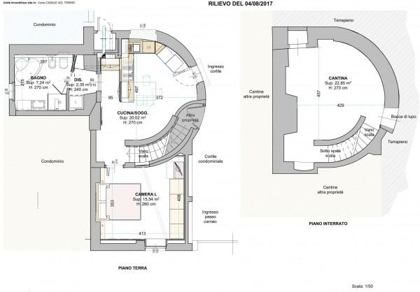 Appartamento in vendita a Torino, Residenziale, Arredato, 60 mq - Foto 2