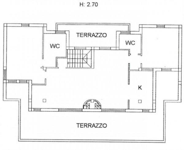 Appartamento in vendita a Vetralla, Con giardino, 112 mq - Foto 2