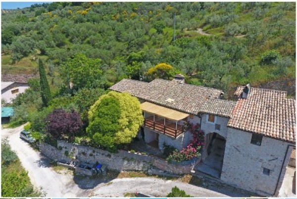 Rustico/Casale in vendita a Trevi, Pigge Di Trevi, Con giardino, 170 mq - Foto 6