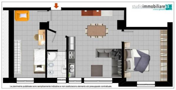 Appartamento in vendita a Genova, Arredato, 65 mq - Foto 2