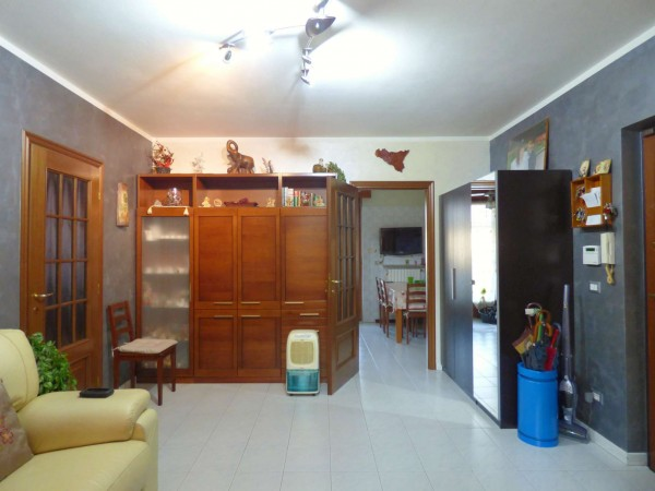 Appartamento in vendita a Borgaro Torinese, Canavere, Con giardino, 100 mq