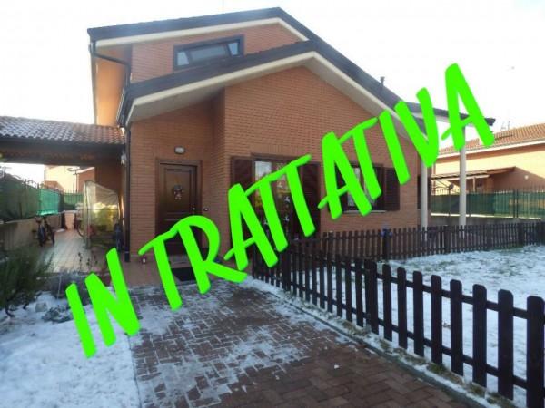 Villa in vendita a Cambiano, Con giardino, 160 mq