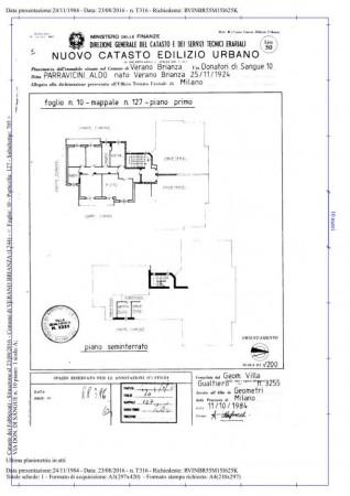 Appartamento in vendita a Verano Brianza, Centro, Con giardino, 125 mq - Foto 6