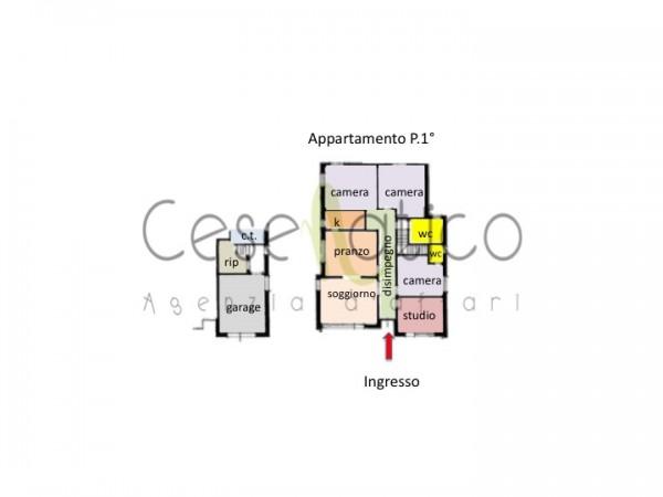 Casa indipendente in vendita a Cesenatico, Con giardino, 290 mq - Foto 7