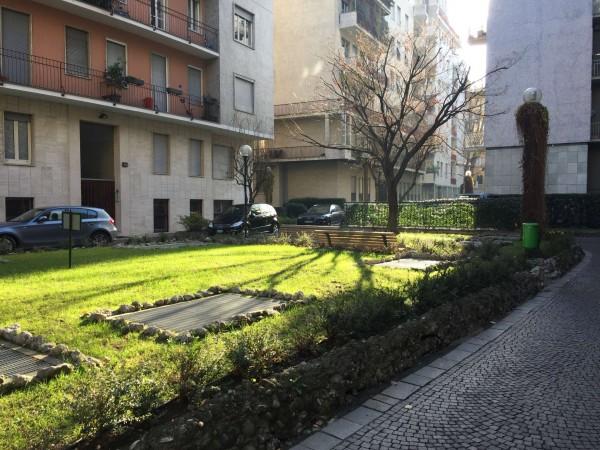 Appartamento in affitto a Milano, Moscova Solferino, Con giardino, 40 mq